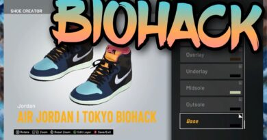 "HOW TO MAKE Air Jordan 1 ""Biohack"" IN NBA 2K21! NBA 2K21 Shoe Creator"