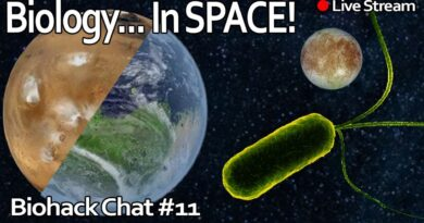 Biology in SPACE! Terraforming, food, Aliens? and more! Ft. Gabriel Licina – Biohack Chat #11
